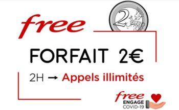 Forfait Telephone Free 2 Euros