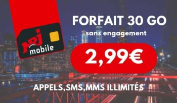 Choisir Forfait Nrj Mobile
