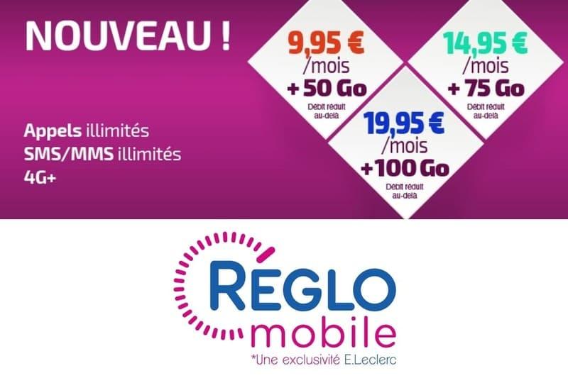 Reglo Mobile Forfait